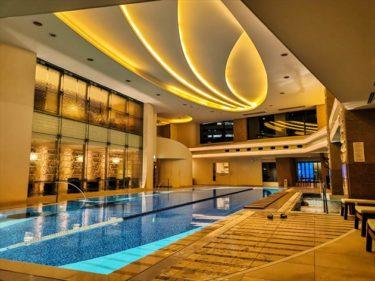 初めてのザ・ペニンシュラ東京滞在記!ペニンシュラの設備「プール」「フィットネスジム」を紹介
